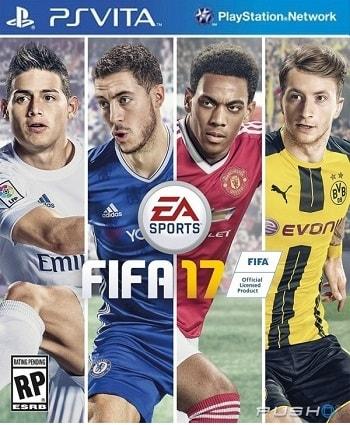 FIFA 17 Ps vita